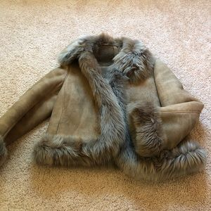 Fur coat from spain